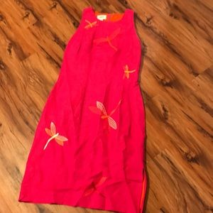 Talbots dragonfly dress!